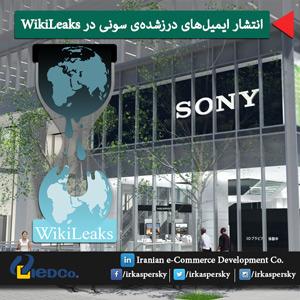 انتشار ایمیل های درزشدهی سونی در ویکی لیکس