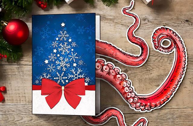 حواستان به کادوها و کارتهای تبریک کریسمسی باشد!