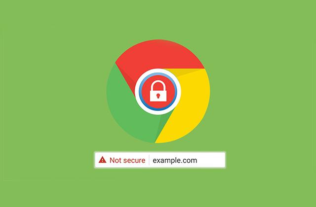"""Not Secure"" پیغام جدید مرورگر کروم برای وب سایت هایی که HTTPS نیستند!"